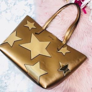 EUC Kendall and Kylie Izzy Star Bronze Tote